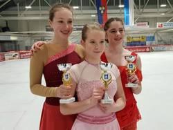 Coralie, Emma und Anastasia in Dorfen