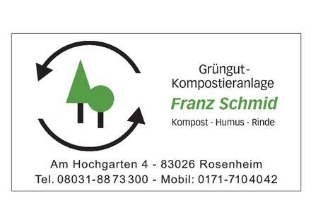 Franz Schmid - Grüngut-Kompostieranlage