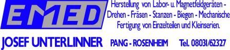 EMED GmbH - Metall- und Kunststofftechnik