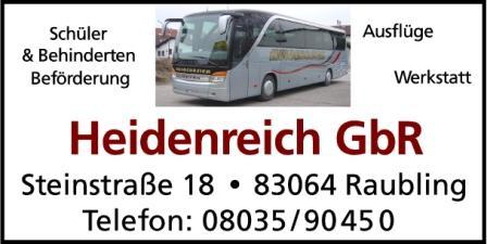 Heidenreich GbR - Busunternehmen
