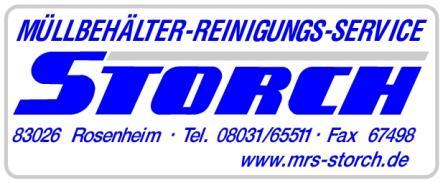 Storch GmbH - Mülltonnenreinigung